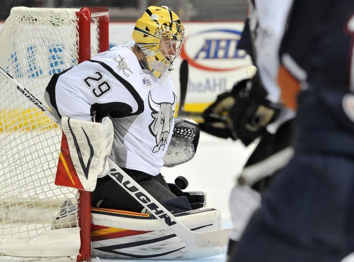 AHL Barons Rampage Hockey